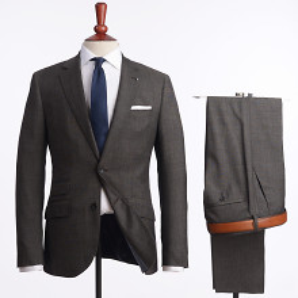 The Tailoring Club Steeler Brun Kostym 4000 kr